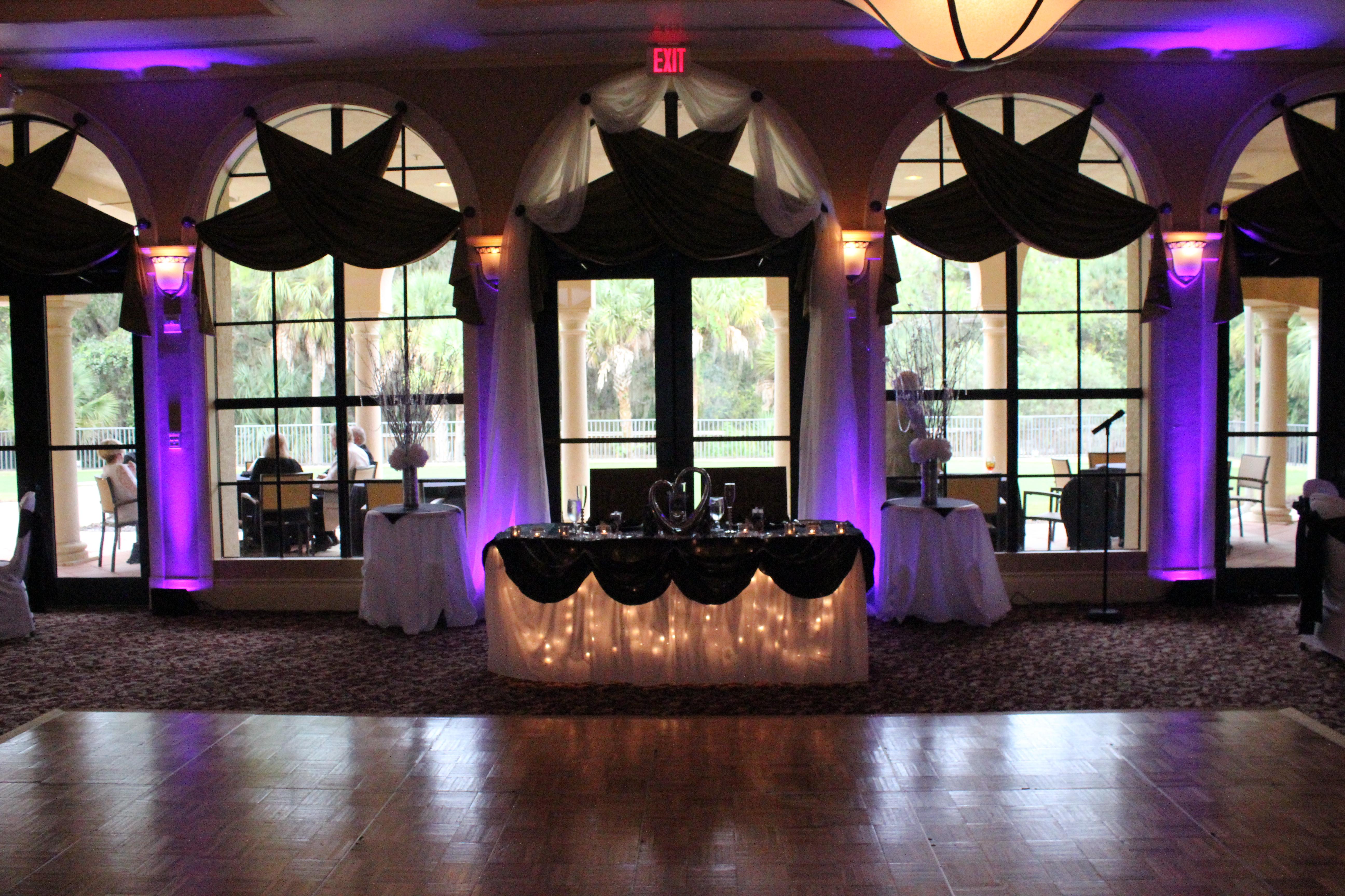 Lighting Set Up/Reception